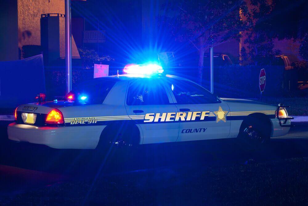 ניידת משטרה - עבירות תנועה