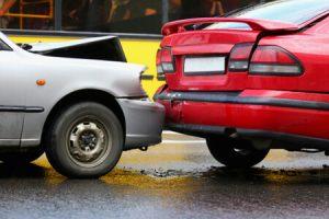 מכוניות לאחר תאונה